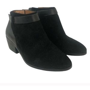 NWOB Madewell Suede and Leather Charley Boots